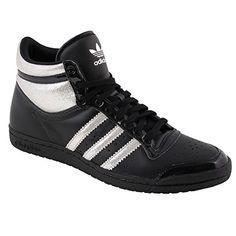 Adidas Top Ten Hi Sleek Series Damen Sneaker Schuhe Black1/Metsil - http://on-line-kaufen.de/adidas/adidas-top-ten-hi-sleek-series-damen-sneaker