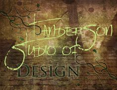 T Anderson Studio of Design by Tami Anderson at Coroflot.com
