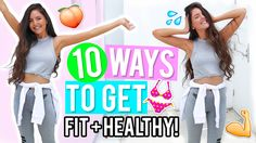 10 Ways to Get Healthy & Fit 2017! Healthy Lifestyle & Fitness DIYs, Life Hacks + Recipes! - YouTube