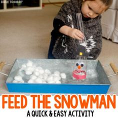 Feed the Snowman Activity