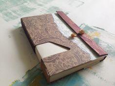 unique paisley journal // sketchbook // handbound by mosoart