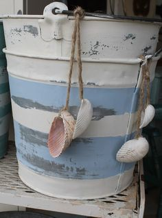 Tattered Tiques -beach buckets