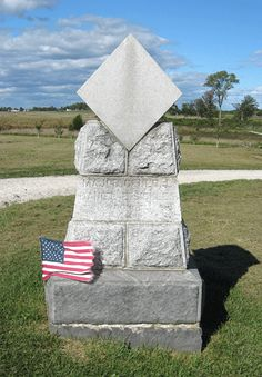 Monument to General Daniel Sickles at Gettysburg