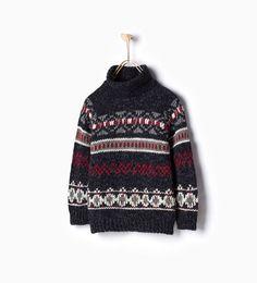 Image 1 of Jacquard sweater from Zara