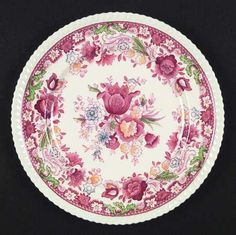 Love this pattern. Winchester in Pink by Johnson Brothers