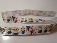 Despicable Me Inspired Handmade Ribbon Lanyard by KreationsbyKolleen on Etsy