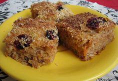 Reform kókuszos répaszelet Diet Cake, French Toast, Muffin, Sweets, Baking, Breakfast, Food, Brioche, Bakken