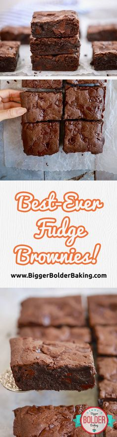 Best Ever Brownies!!! Save this recipe because these are the best I have ever had. via @gemstafford
