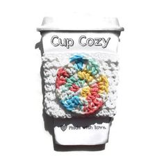 Coffee Cozie or Cool Cozie,the choice is yours! Your Handcrafted Cozie is made from 100% US grown cotton yarn. #craftshout