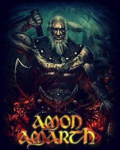 Amon Amarth Heavy Metal Art, Metal Fan, Nu Metal, Heavy Metal Bands, Viking Metal, Viking Art, Viking Warrior, Amon Amarth, Death Metal