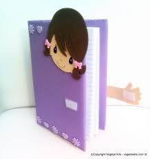 Resultado de imagem para eva capa caderno criança
