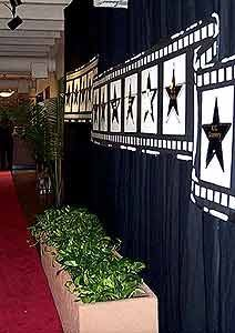 HOLLYWOOD THEME PARTY DECOR RENTAL AND PROPS RENTAL. RENTAL TELLY AWARD (TM) STATUE BETTER THAN RENTAL OSCAR (R), RENTAL EMMY (R), RENTAL TONY (R) OR RENTAL SAG (R) BECAUSE IT IS FOR YOU NOT ONLY INDUSTRY GIANTS!