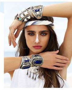 Fan page for model Taylor Hill ♥ Boho Jewelry, Jewelry Shop, King Crimson, Taylor Marie Hill, Boho Chic, Bohemian, Boho Fashion, Shop Now, Product Launch