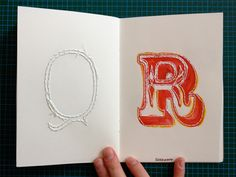 Danielle Sayer - Sketchbook Project: 2012 for the Art House Co-op.