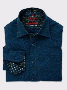Luchiano Visconti Long Sleeve Sport Shirts