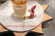 Verrines de butternut parfum noisette et sa crevette
