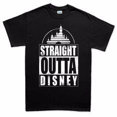 63c8d3762f5 Straight Outta Disney Compton Funny Mens T Shirt