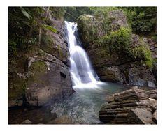 La Mina Waterfall, El Yunque, Puerto Rico
