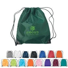 These string tote bags are great for the gym, students, fundraisers and so much more. Custom Drawstring Bags, Drawstring Backpack, Marketing Materials, Amusement Parks, Fundraising, Business Cards, Budgeting, Promotion, Giveaways