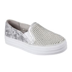 This stylish athletic sneaker by Sketchers features a microfiber faux suede fabric upper, slip on construction, stitching accents and dual side elastic panles for easy on and off,801,Faux suede upper,Air Cooled Memory Foam cushioned insole,Flexible rubber traction outsole,,,