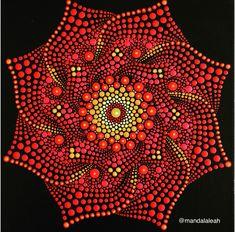 Mandala Canvas, Mandala Artwork, Mandala Painting, Rainbow Painting, Dot Art Painting, Stone Painting, Mandala Pattern, Mandala Design, Mandala Art Lesson
