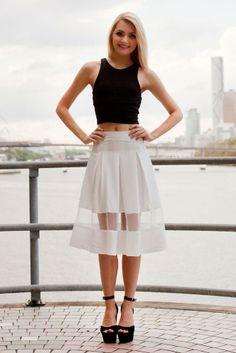 Shop Fashion Avenue - Pirouette Skirt