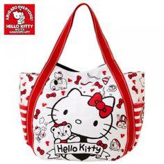 Hello Kitty 40th Anniversary Tote Bag Shoulder Purse Handbag Sanrio from Japan | eBay