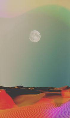 Bergquist #desert #moon