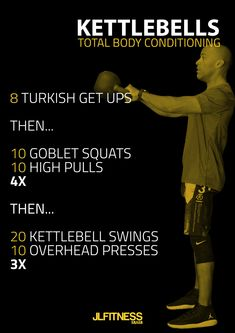 KB Total Body Conditioning Workout | Posted by: NewHowtoLoseBellyFat.com