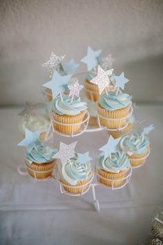 Twinkle Twinkle a Baby Boy Sprinkle – Laura & Co.twinkle twinkle little star, twinkle twinkle baby sprinkle, baby sprinkle, baby shower, star baby s. - Baby Baby Home Baby Shower Cupcakes For Boy, Gateau Baby Shower, Cupcakes For Boys, Baby Shower Brunch, Baby Shower Themes, Shower Ideas, Christening Cupcakes Boy, Babyshower Cake Boy, Baby Boy Cakes