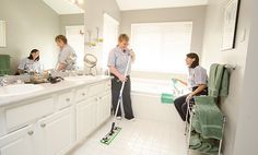 Keeping your house clean during the week can be tough. Read Molly Maid's home cleaning schedule tips to avoid major cleaning overhauls during the weekend. Spring Cleaning Checklist, Weekly Cleaning, Cleaning Lists, Cleaning Schedules, Green Cleaning Services, Cleaning Faucets, Natural Cleaning Solutions, Clean House Schedule, Speed Cleaning