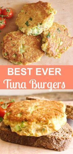 Tuna Burgers, who needs meat when these Tuna Burgers become the best burger ever. Not only delicious but healthy too! #tuna #tunaburgers #lunch #easyrecipe #easydinner #fastdinner #healthy