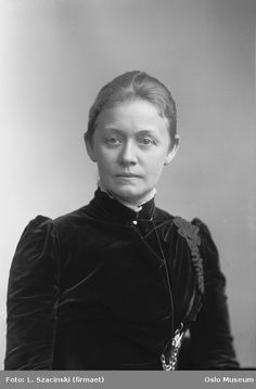 Agathe Backer Grondahl  Oslo, Norway  1896  Musician, from the known Backer-family.