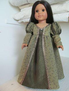American Girl doll - Renaissance, or princess, dress