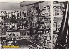 a toy store in 1979 featuring Kenner Star Wars and Mattel Battlestar Galactica