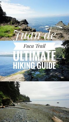 Juan de Fuca Trail on Vancouver Island, BC. Your ultimate hiking and planning guide! Camping And Hiking, Hiking Gear, Hiking Trails, Backpacking Trips, Vancouver Island, Acadia National Park Camping, West Coast Trail, Hiking Guide, Colorado Hiking