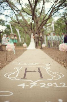 Burlap Aisle Runner For A Fall Wedding Our October Pinterest And Weddings
