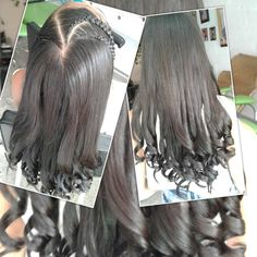 Trenza con crespos Long Hair Styles, Instagram, Beauty, Curly, Trendy Hairstyles, Plaits Hairstyles, Hair, Long Hairstyle, Long Haircuts