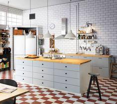 cuisine metod veddinge avec panneaux de fibres de bois peint partir de 359 euros - Veddinge Gris