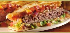 Copycat Recipe for Applebee's Quesadilla Burger