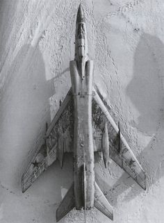 """Tupolev Tu-128  """"fiddler"""", a long-range interceptor aircraft developed by the soviet union in the 1960s. It remains the world's largest production fighter aircraft."""