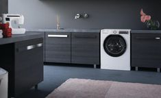 Hoover's Innovative Wi-Fi washing machine App helps you care for your laundry even when you're not at home.