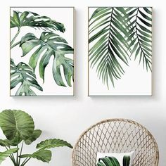 Beautiful Tropical Leaves Watercolor House Plants Posters Fine Art Canvas Prints Nordic Style Interior Decoration For Modern Kitchen Living Rooms Beautiful Tropical Leaves Watercolor House Plants Posters Fine Art Canvas Prints – NordicWallArt. Canvas Poster, Canvas Art Prints, Canvas Wall Art, Bathroom Canvas Art, Kitchen Canvas Art, Plant Painting, Plant Art, Spray Painting, Botanical Wall Art