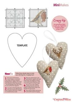 Thrilling Designing Your Own Cross Stitch Embroidery Patterns Ideas. Exhilarating Designing Your Own Cross Stitch Embroidery Patterns Ideas. Cross Stitch Christmas Ornaments, Xmas Cross Stitch, Cross Stitch Heart, Cross Stitch Animals, Christmas Embroidery, Christmas Cross, Cross Stitching, Christmas Patterns, Embroidery Hearts