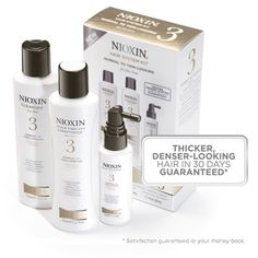 Nioxin hair products for thinning hair
