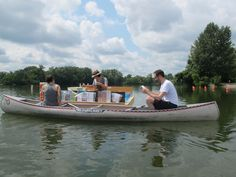 The Floating Library sets sail on Cedar Lake