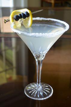 Friday at Five: Blueberry Lemondrop Martini   GO GO GO Gourmet!