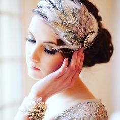 This headpiece is exquisite and perfect for this Sunday morning! #love #partyideas #partyplanner #partystyling #partyplanning  #eventdesign #eventplanner  #wedding #weddingideas  #weddingplanner #weddingphotography #diyparty #diywedding #beautiful #thepartyatelier  #weddingdress #bride #bridalfashion #bride2be #instabride #weddinggown #amazing #white #fashion #weddingjewelry #jewelry #bridaljewelry #engaged #brides #weddingpearls #weddingfeathers #whitefeathers #vintagebride