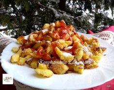 Császármorzsa Recept képpel - Mindmegette.hu - Receptek Penne, Macaroni And Cheese, Food And Drink, Sweets, Chicken, Meat, Baking, Ethnic Recipes, Deserts