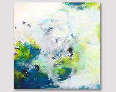 Titel: vanaf een andere eeuw  Originele kunst Acryl schilderij op uitgerekt geweven doek.  +++++++++++++++++++++++++++++++++++++++++++++  GESPANNEN op houten FRAME & klaar te hangen  +++++++++++++++++++++++++++++++++++++++++++++  Afmeting: 80 cm x 80 cm (31,5 inch x 31,5 inch), het doek is 0,78 inch diep.  Een duidelijk glanzende coating heeft is aangebracht op het oppervlak ter bescherming van het schilderij van UV-licht, vocht en stof. Nietjes zijn op de achterkant en de randen zijn ges...